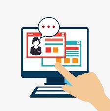 Online Clipart Online Customer Service Communication Channels Communication