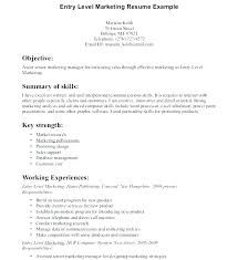 Marketing Resume Skills Extraordinary Mba Marketing Resume Sample Over And Resume Samples With Free