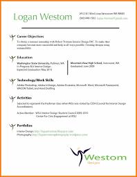 Interior Design Resume Objective Resume Objective Examples Interior Designer Danayaus 18