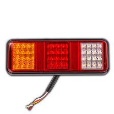 Led Tray Lights Jumbo Tail Stop Light Lamp Indicator Led Trailer