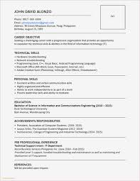 Resume Samples Word Sample Cv Layout Template Word New Templates 0d