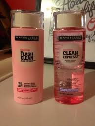 maybelline has a brand new line of makeup removers called clean express the line includes the s pictured above and also makeup removing towelettes