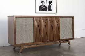 record player console.  Player The Luno EGB2 Is A Beautiful Midcentury Record Player With AirPlay  Support You Can Stream Music From Your Favorite AirPlayenabled App Or Throw On  To Record Player Console
