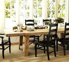 extendable pine dining table seats reclaimed wood extending dining table wax pine finish pottery barn solid