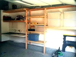 garage shelving ideas organize shelves build