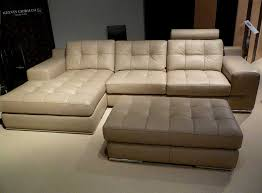 beige leather sofa. Fine Beige Fiore Sofa Sectional Leather Beige With