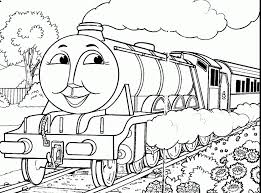 Thomas Percy Train With Tree Coloring Pages The And Friends Cartoons