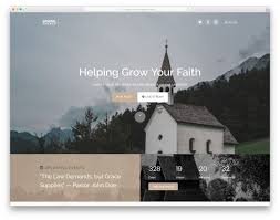 28 Best Free Church Website Templates To Preach Gospel