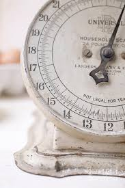 Small Picture Vintage Kitchen Scale Photograph by Edward Fielding