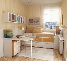 Single Bedroom Decoration Simple Teenage Rooms With Bedroom Lay Out Combined Yellows