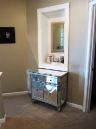 Mirrored Bedroom Vanity Diy Bedroom Vanity With Mirror Uncategorized Simple Rectangular