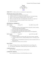 Skills For Customer Service Resume Customer Service Resume Skills