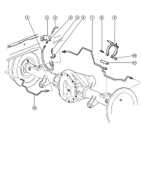 2004 dodge dakota rear brake line diagram wiring diagram