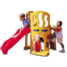 Little Tikes Outdoor Kitchen Hide And Slide Climber For Kids At Little Tikes