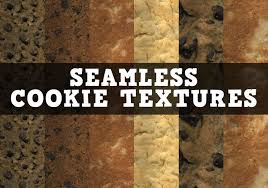 12 Seamless And Delicious Cookie Textures Free Photoshop Brushes