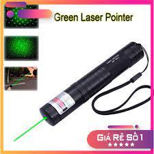 Đèn pin Laser YL-303, tia xanh lá, cực mạnh, siêu sáng
