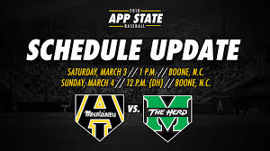 Home Opening Baseball Series To Now Begin Saturday Appalachian