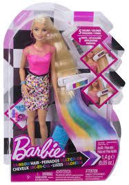 Barbie Com Designable Hair Barbie Designable Hair Extensions Doll Buy Online In Uae