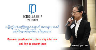 Scholarship Interview Questions Scholarship Tip Common Questions For Scholarship Interview