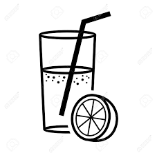 juice clipart black and white. Fine Clipart And Juice Clipart Black White E