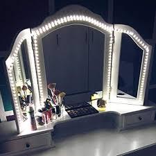 led vanity mirror lights kit mztdytl 13ft 4m led mirror light strip 240 leds