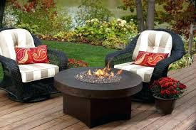fireplace outdoor table