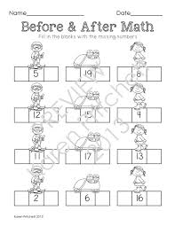 Number Sequence Worksheet For Kindergarten 0 20. Number. Best Free ...