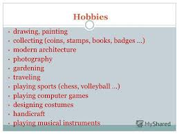 What Is Your Hobbies What Is A Hobby Under Fontanacountryinn Com