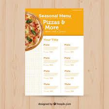 A La Carte Menu Template Pizza Menu Template Stock Images Page Everypixel