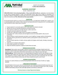 Sample Resume Certified Nursing Assistant Writing Certified Nursing Assistant Resume is simple if you follow 26