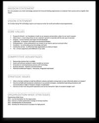 Corporate Business Plan Template Strategic Planning Samples Onstrategy Resources