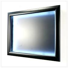 extra large shadow box 7 inch deep extra large display case shadow box shown in landscape extra large shadow box