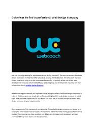 Work Experience In Design Companies Web Design Company Brisbane By Milda Oser Issuu