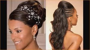 Coiffure Mariage Cheveux Afro Simple 27 étonnant Coiffure