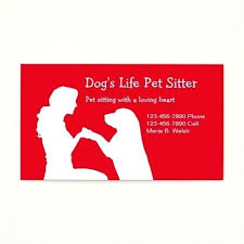 Pet Sitter Business Cards Pet Sitter Business Card Cards Free Sitting Templates Kickalert