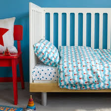 blue star fitted sheet cot bed
