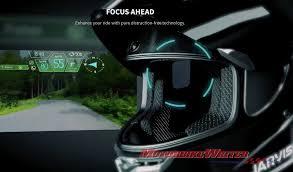 jarvish x ar augmented reality hud smart helmet