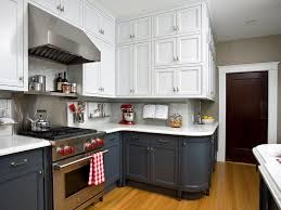Refinishing Wood Kitchen Cabinets Adorable TwoToned Kitchen Cabinets Pictures Options Tips Ideas HGTV