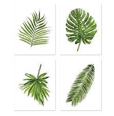 green leaf art a077 set of 4 art prints 8x10 green on leaf wall art set with amazon green leaf art a077 set of 4 art prints 8x10 green