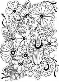 Adult Coloring Pages Flowers Coloring Pages Printable 15137