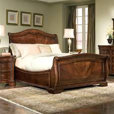 leather sleigh beds leather king size sleigh bed with drawers beautiful double bed size in cm
