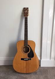 yamaha acoustic guitar. great vintage yamaha acoustic guitar. yamaha guitar