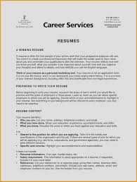 Resumes That Stand Out Unique Writing A Great Resume New Fresh Write