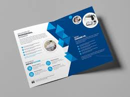 Free Two Fold Brochure Template Bifold Brochure Under Fontanacountryinn Com