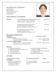 How To Do A Resume Experience Resumes