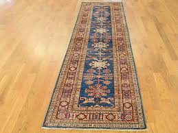 2 8 x9 7 super kazak tribal design hand knotted oriental runner rug cwr37986