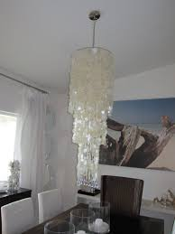 awesome capiz shell chandelier for your home interior design ideas white capiz shell chandelier with