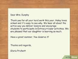 Er fertigt ein schreiben aus, freundlicherweise. Einen Brief An Den Lehrer Deines Kindes Schreiben Mit Bildern Wikihow