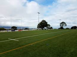 rugby full size school field layed synthetic grass soccer rugby
