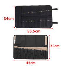 chef knife bag roll bag carry case bag kitchen portable storage 10 21 pockets